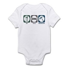 Eat Sleep Rockhound Infant Bodysuit