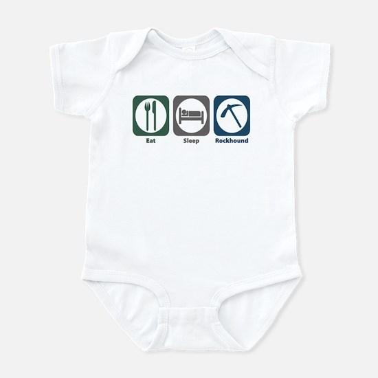 Eat Sleep Rockhound Infant Bodysuit