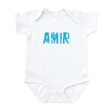 Amir Faded (Blue) Infant Bodysuit