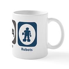 Eat Sleep Robots Mug