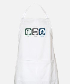 Eat Sleep Robots BBQ Apron