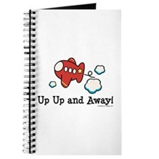 Up Up and Away Airplane Journal