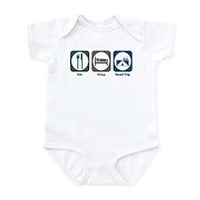 Eat Sleep Road Trip Infant Bodysuit