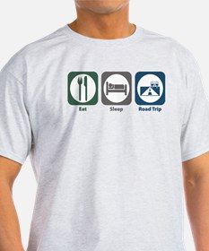 Eat Sleep Road Trip T-Shirt