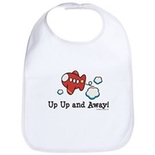 Up Up and Away Airplane Bib