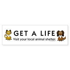 Get a Life Bumper Sticker (50 pk)