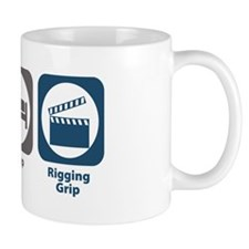 Eat Sleep Rigging Grip Small Mug