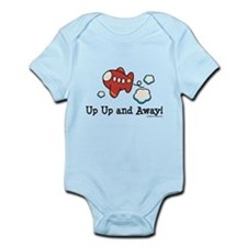 Up Up and Away Airplane Onesie