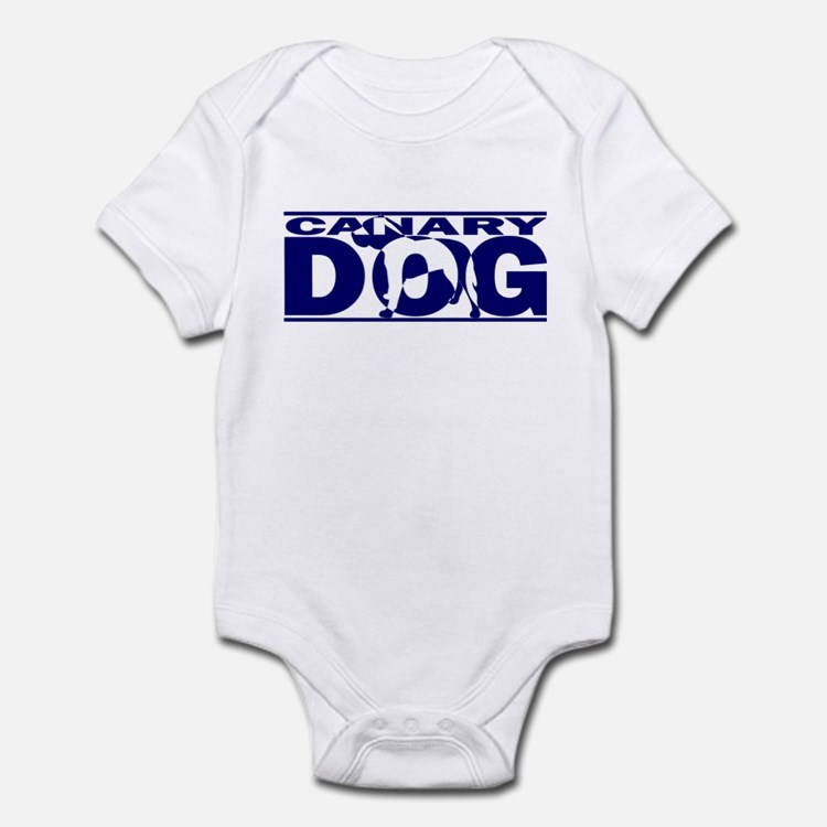Hidden Canary Dog Baby Bodysuit