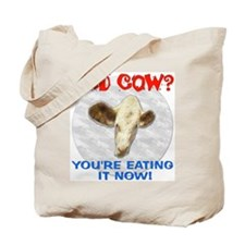 Mad Cow Now Tote Bag