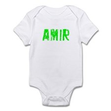 Amir Faded (Green) Infant Bodysuit