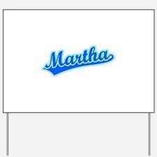 Retro Martha (Blue) Yard Sign