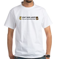 Don't Shop, Adopt Shirt
