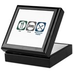Eat Sleep Restaurant Supply Keepsake Box