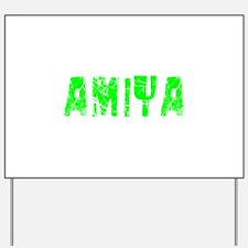 Amiya Faded (Green) Yard Sign