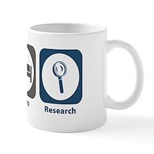 Eat Sleep Research Small Small Mug