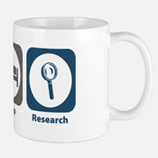 Eat Sleep Research Small Small Mug