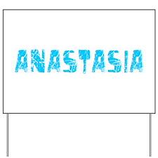 Anastasia Faded (Blue) Yard Sign