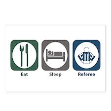 Eat Sleep Referee Postcards (Package of 8)