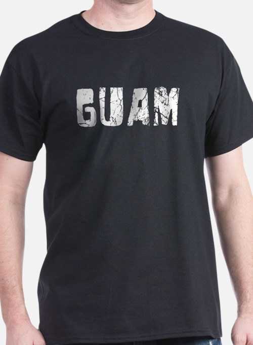 Guam Faded (Silver) T-Shirt