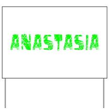 Anastasia Faded (Green) Yard Sign