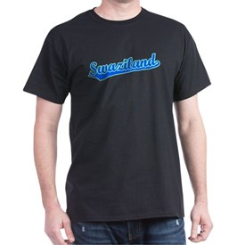 Retro Swaziland (Blue) T-Shirt