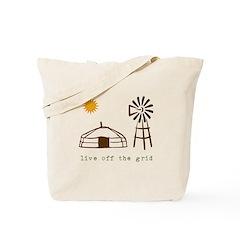 Live Off-Grid Tote Bag