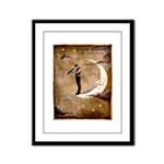 Psychic Wizardry, Man on the Moon Print Framed Pan