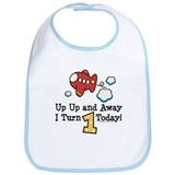 Airplane baby boy Cotton Bibs