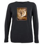 Psychic Wizardry, Man on the Moon Print T-Shirt