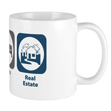 Eat Sleep Real Estate Mug