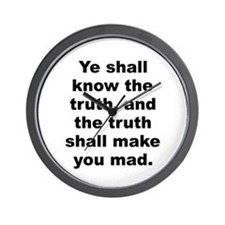 Unique Aldous huxley quote Wall Clock
