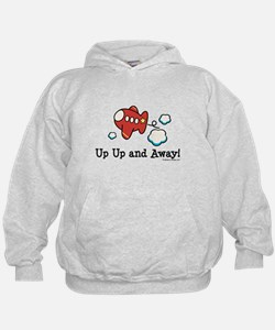 Up Up and Away Airplane Hoodie