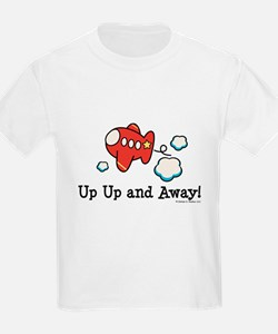 Up Up and Away Airplane T-Shirt