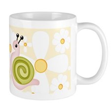 FlowerPower Snail Coffee Mug