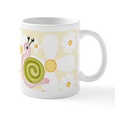 FlowerPower Snail Mug