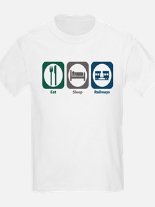 Eat Sleep Railways T-Shirt
