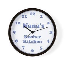 "Merlin ""Nana"" Wall Clock"