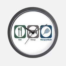 Eat Sleep Racquetball Wall Clock
