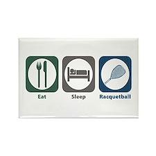 Eat Sleep Racquetball Rectangle Magnet (10 pack)