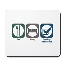 Eat Sleep Quality Assurance Mousepad