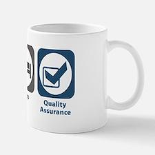 Eat Sleep Quality Assurance Small Small Mug
