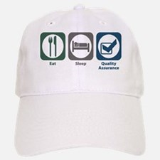 Eat Sleep Quality Assurance Baseball Baseball Cap