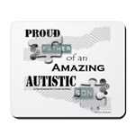 Proud Dad of an Autistic Son Mousepad