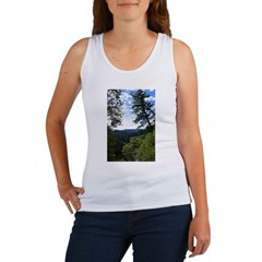 Eel River from the cliff Women's Tank Top