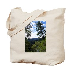 Eel River from the cliff Tote Bag