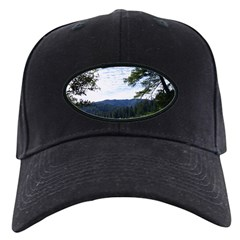 Eel River from the cliff Baseball Hat