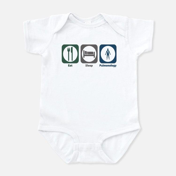 Eat Sleep Pulmonology Infant Bodysuit