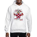 Quinones Family Crest Hooded Sweatshirt