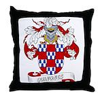 Quinones Family Crest Throw Pillow